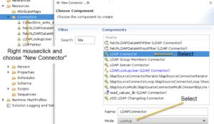 Creating an LDAP Connector